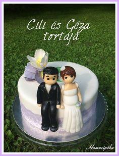 Hamucipóka: Cili és Géza esküvői tortája - amikor a megrendelő hatással van a tortás ízlésére!