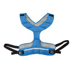 Zeyu Sports Walking Fitness Weighted Vest 8LBS/3.6KG Blue Women Running. 8lbs (3.6kg) weighted vest made for women. Made from synthetic rubber, a sustainable resource. Adjustable form-fitting design with quick-release buckle. Great for walking, running, and other activities. Ideal for physical fitness and healthy living.