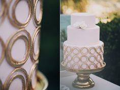 Modern Mediterranean Wedding Cake