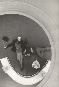 Anjelica Huston & David Bailey, by David Bailey. (1973).                                                                                                                                                                                 More