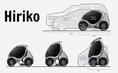 With escalating fuel prices, traffic congestion and lack of basic parking space, a foldable electric car might just be the answer to out car parking problems. Designed at the Massachusetts Institute of Technology, the first of its kind folding electric car named Hiriko Fold, is now
