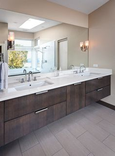Leschi Remodel contemporary bathroom