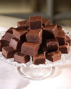 Chocolate Fudge Recipe (Martha Stewart).