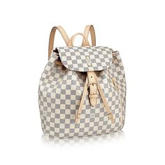 1101c4a164 Sperone Women s Backpack in Damier Canvas