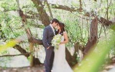 Yellow and Green Rustic Ranch Wedding