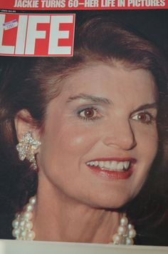 Life Magazine July 1989 Jackie Jacqueline Kennedy Onassis Turns 60--Life in Pictures.