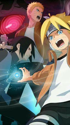 Boruto, Sasuke & Naruto