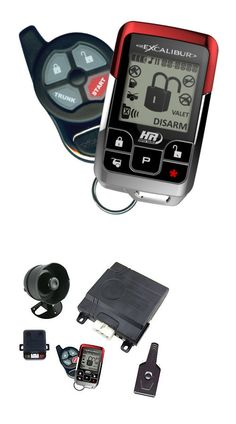Remote Start and Entry Systems: Excalibur Al-1855-Edpb 2-Way Paging Remote Start Car Alarm And Keyless Entry -> BUY IT NOW ONLY: $249.99 on eBay!
