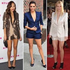 Celebrity Style in Short Suits