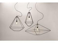 Design steel pendant lamp CON.TRADITION | Pendant lamp - Opinion Ciatti