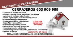 Cerrajeros de Sagunto 603 909 909