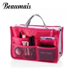 Beaumais 2016 Multifunction Nylon Makeup Organizer Bags For Women Cosmetic Bags Toiletry Kits Travel Bag Ladies Handbags DB5403 #jewelry, #women, #men, #hats, #watches, #belts, #fashion