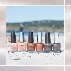 "941 Likes, 11 Comments - OPI (@opi_products) on Instagram: ""A lineup fit for the #sunshine ☀️#OPICaliforniaDreaming shades: #BarkingUpTheWrongSequoia,…"""