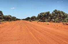 Road in the Goldfields, Western Australia