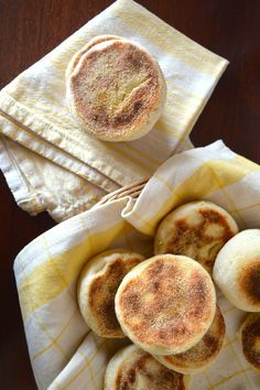 Homemade English Muffins. The best thing ever.
