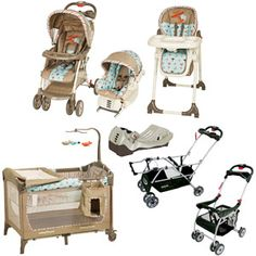 Graco Ally Collection Baby Gear Bundle If I Have A