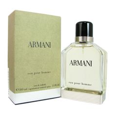Giorgio Armani 'Armani' Men's 3.4-ounce Eau de Toilette Spray | Overstock.com Shopping - Big Discounts on Giorgio Armani Men's Fragrances