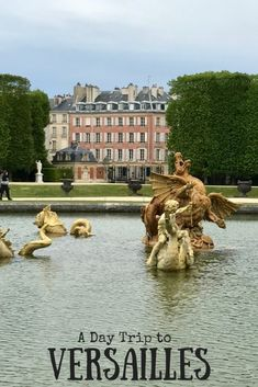 A day trip to Versailles from Paris is a must do when you visit the French capital. Here are some hints and tips to help with your day. Paris Travel Tips, Europe Travel Tips, European Travel, Travel 2017, European Vacation, Traveling Europe, Traveling Tips, Travel Info, Travel Guides