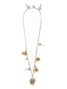 Heart locket necklace | Alexander McQueen | MATCHESFASHION.COM