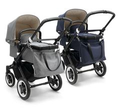 Bugaboo Buffalo classic with bassinet and tote bag