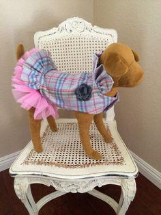 Zoe Dog Dress por MonPetitChienShop en Etsy