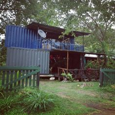 | Two Story Container Home | Two containers, one tiny house