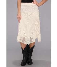 "Scully Honey Creek ""Alouette"" Crochete Skirt"