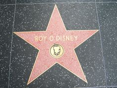 hollywood walk of fame | ... Disney's star on the Hollywood Walk of Fame