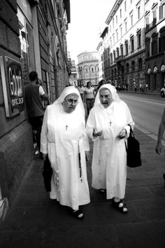 Photography  Italy  Florence  Two Nuns by LifeLoveAndElegance, $30.00