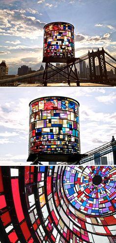 watertower by tom fruin - designvagabond