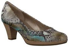 Gabor 65.240.76 BOA COLORE NATUR TURKIS multi | Omoda schoenen