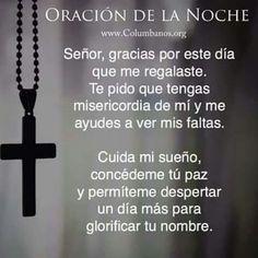 Gracias señor por tu gran misericordia....