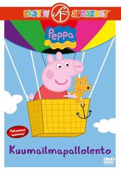 Pipsa Possu: Kuumailmapallolento dvd. Pipsa lähtee lelunallensa kanssa jännittävälle kuumailmapallolennolle. Toisessa jaksossa lähdemme pyöräretkelle ja juhlimme Jyrin syntymäpäiviä.