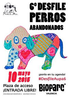 6º Desfile solidario de perros abandonados en Bioparc - http://www.valenciablog.com/6o-desfile-solidario-de-perros-abandonados-en-bioparc/