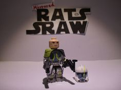 Lego Star Wars minifigures - Clone Custom Troopers - ARC Commander Blitz