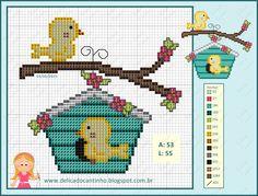 Birds pattern - Delicado Cantinho