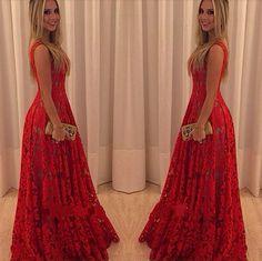 Barato Vestidos 2014 nova moda longo Maxi vestido de renda das mulheres sem mangas vestidos de festa de noite vermelho do Vintage vestido de festa vestido Casual, Compro Qualidade Roupas & acessórios diretamente de fornecedores da China:    você pode gostar:
