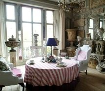 Inspiring picture blue, home decorating, interior design, living room, pink, window.