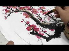 國畫山水影音教學園區-雪梅圖-林振彪 -Chinese Art Painting - YouTube Chinese Painting, Chinese Art, Prunus Mume, Painting & Drawing, Watercolor, Tattoos, Drawings, Creative, Youtube