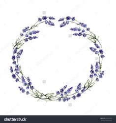 lavender wreaths drawing - Google Search
