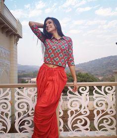 Ankita Sharma in saree