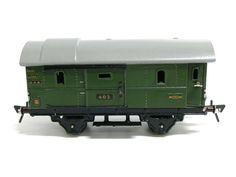 Orginal Güterwagen der Fa. Fleischmann Nürnberg GFN Modell 403 ca. 1950 Spur 0 $45.00