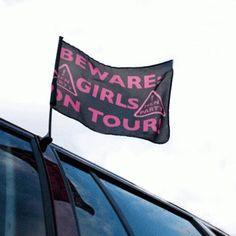 Hen Party Car Flag Decoration
