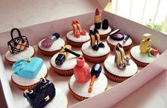 Funny pictures about Cupcakes like no other. Oh, and cool pics about Cupcakes like no other. Also, Cupcakes like no other. Cookies Cupcake, Shoe Cupcakes, Fun Cupcakes, Girl Cupcakes, Pretty Cupcakes, Birthday Cupcakes, Chanel Cupcakes, Cupcake Art, 16th Birthday