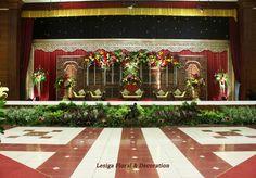 Dekorasi Pelaminan Jawa Modifikasi