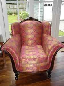 Duncan Phyfe -esque arm chair.  Love it.