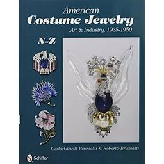 American Costume Jewelry: Art & Industry, 1935-1950, N-Z Jewelry Art, Costume Jewelry, Brooch, Costumes, Dress Up Clothes, Brooches, Unique Jewelry, Fashion Jewelry, Costume