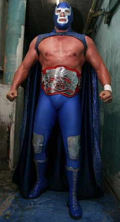 Luchadors A to Z - Blue Demon, Jr.