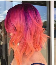 @xostylistxo is the artist... Pulp Riot is the paint.