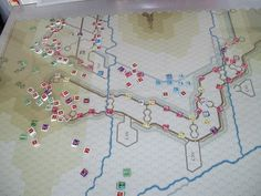 The Siege of Alesia | Image | BoardGameGeek Oh my god. A board game on the Battle of Alesia. A. Board. Game. I want this.